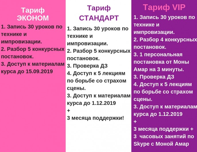 Copy of ТарифСТАНДАРТ